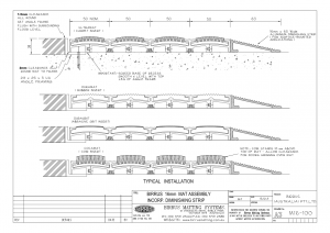 Birrus Matting Profiles Diagram 16mm