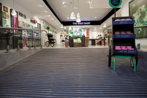 DURAGRIT in use in a retail environment