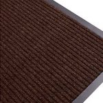 Ribbed Mat Brown Swatch