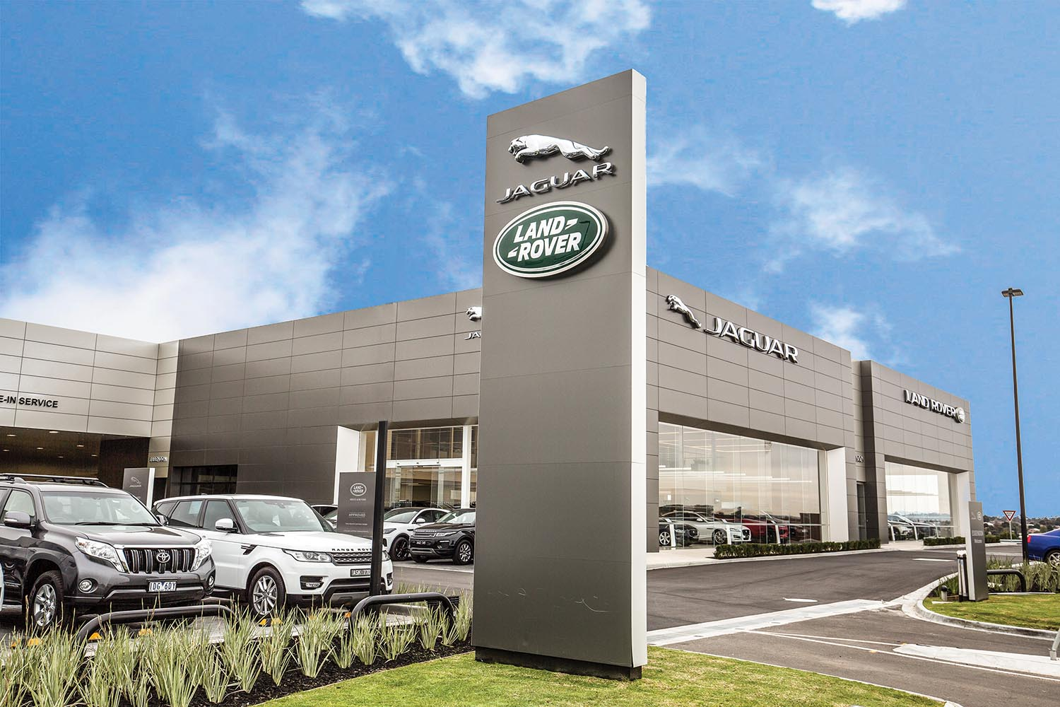 Jaguar Car Dealership