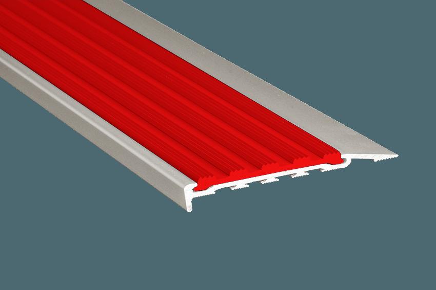 223116 - Venturi Polymer Red Insert SM Silver Nosing