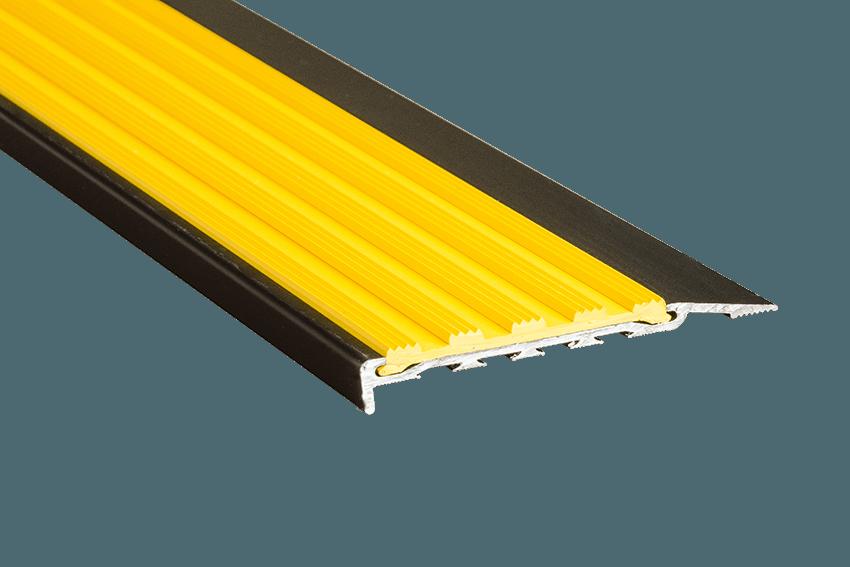 223128 - Venturi Polymer Yellow Insert SM Black Nosing