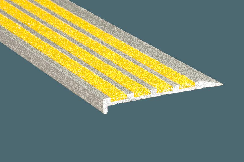 Aalto 4 Yellow Infill Silver
