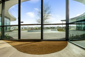 COCAMAT Curved entrance matting