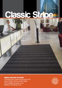 Birrus Classic Stripe Datasheet