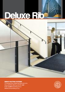 Birrus Deluxe Rib Datasheet